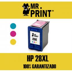 28XL HP Cartucho Color Remanufacturado C8728A