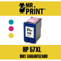 57XL HP Cartucho Tricolor Remanufacturado C6657AE