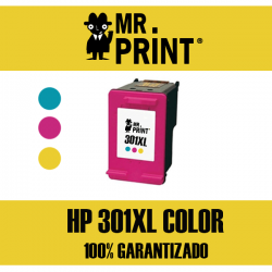 301XL V3 HP Cartucho Tricolor Remanufacturado