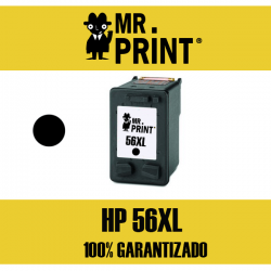 56XL HP Cartucho Negro Remanufacturado C6656AE