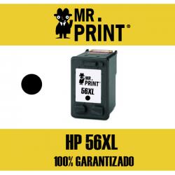 56XL HP Cartucho Negro Remanufacturado C6656AE