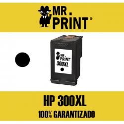 300XL (CC641E) HP Cartucho Tinta Negra Remanufacturado