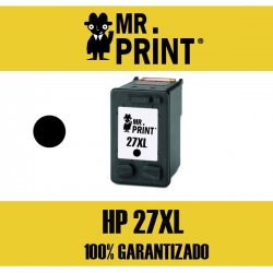 27XL HP Cartucho Negro Remanufacturado