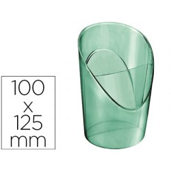 Cubilete portalapices esselte plastico colour ice color verde 100x125x90 mm