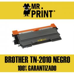 TN2010 BRROTHER Toner Laser Negro Remanufacturado