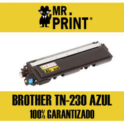 TN230 Brother Toner Cyan Remanufacturado