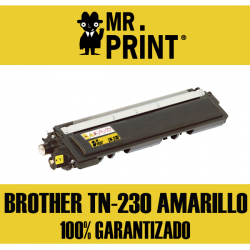 TN230 Brother Toner Amarillo Brother Remanufacturado