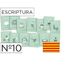 Cuaderno rubio escriptura nº10 catalan