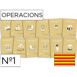 Cuaderno rubio operacions nº 1 catalan