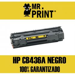 CB436A HP Toner Negro Remanufacturado