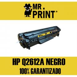 Q2612A HP Toner  Negro Remanufacturado