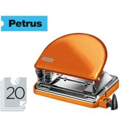 Taladrador petrus 52 wow naranja metalizado capacidad 20 hojas en blister