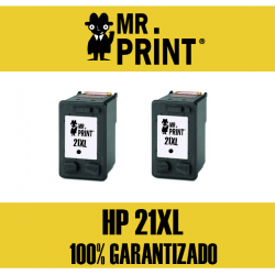 21XL HP Cartucho Negro Remanufacturado