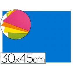 Goma eva autoadhesivas 30x45 cm color azul bolsa de 6 unidades