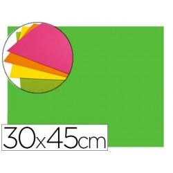 Goma eva autoadhesivas 30x45 cm color verde bolsa de 6 unidades