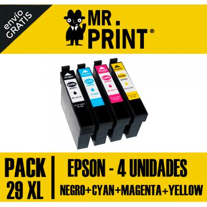 Epson 29XL Cartucho Negro Remanufacturado