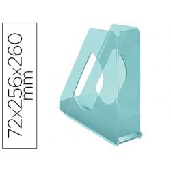 Revistero esselte plastico colour ice color azul 72x256x260 mm