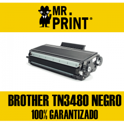 TN3480 Brother Toner Láser Negro  Remanufacturado