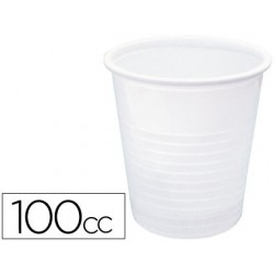 Vaso de plastico blanco 100cc -paquete de 50