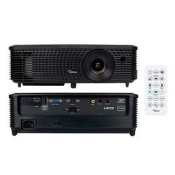 Videoproyector optoma s342e svga resolucion 800x600 3700 lumenes contraste 22000:1