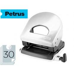 Taladrador petrus 62 wow blanco perla capacidad 30 hojas