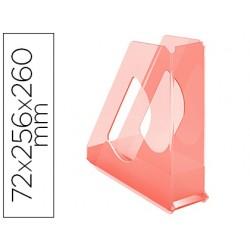 Revistero esselte plastico colour ice color albaricoque 72x256x260 mm