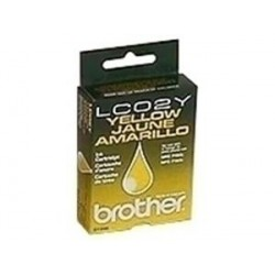 CARTUCHO TINTA AMARILLO BROTHER LC02Y ORIGINAL