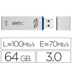 Memoria usb emtec flash 64 gb 3.0 100 mb/s