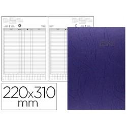 Libro de reservas ingraf 22x31 cm 2019 2 dias pagina papel ecologico 70 gr