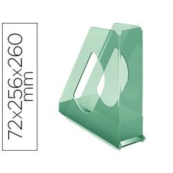 Revistero esselte plastico colour ice color verde 72x256x260 mm
