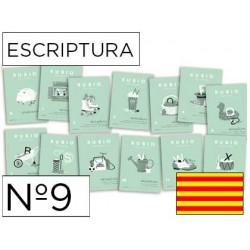 Cuaderno rubio escriptura nº9 catalan