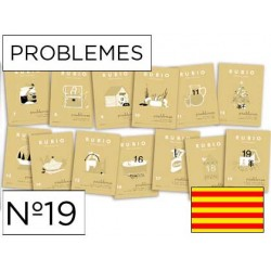 Cuaderno rubio problemes nº 19 catalan