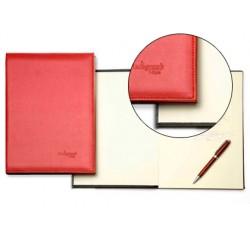 Libro de firmas autograph 6876 tapa acolchada rojo 305x210 mm