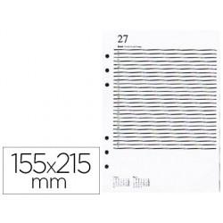 Recambio agenda anillas miquelrius 155x215 mm integralplus dia pagina