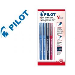 Rotulador pilot punta aguja v-5 surtido 0.5 mm blister 2/az-1/ne-1/ro-m
