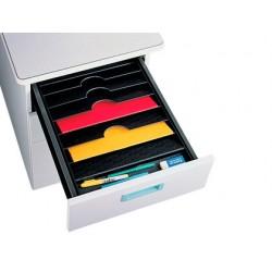 Bandeja organizadora fast-paperflow de cajones 90x327x457 mm