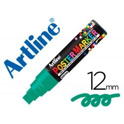 Rotulador artline poster marker epp-12-ver punta redonda 12 mm color verde