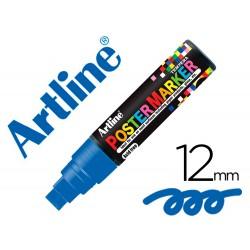 Rotulador artline poster marker epp-12-azu punta redonda 12 mm color azul
