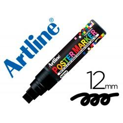 Rotulador artline poster marker epp-12-neg punta redonda 12 mm color negro