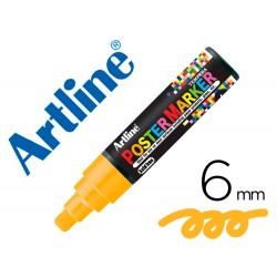 Rotulador artline poster marker epp-6-nar flu punta redonda 6 mm color naranja fluor