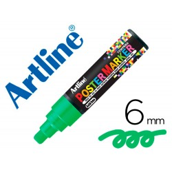 Rotulador artline poster marker epp-6-ver punta redonda 6 mm color verde