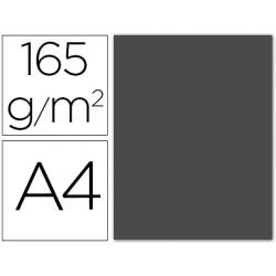 Papel color liderpapel a4 165g / m2 gris paquete de 9