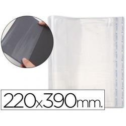 Forralibro pp ajustable adhesivo 220x390mm -blister