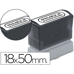 Etiquetas para sellos brother 18x50 paquete de 12 unidades
