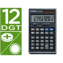 Calculadora citizen sdc-722 a -sobremesa -12 digitos