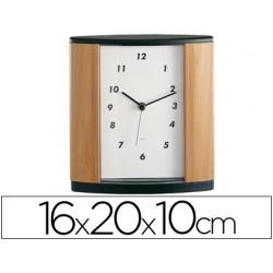 Reloj de oficina imitacion a madera -century 346