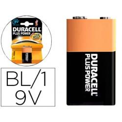 Pila duracell recargable 9v blister de 1 unidad