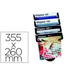 Expositor sobremesa paper-flow 4 compartimentos tamaño din a4+ color negro 355x260x350 mm