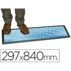 Alfombra planning sisplamo transparente con funda personalizable 29,7x84cm
