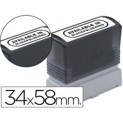 Etiquetas para sellos brother 34x58